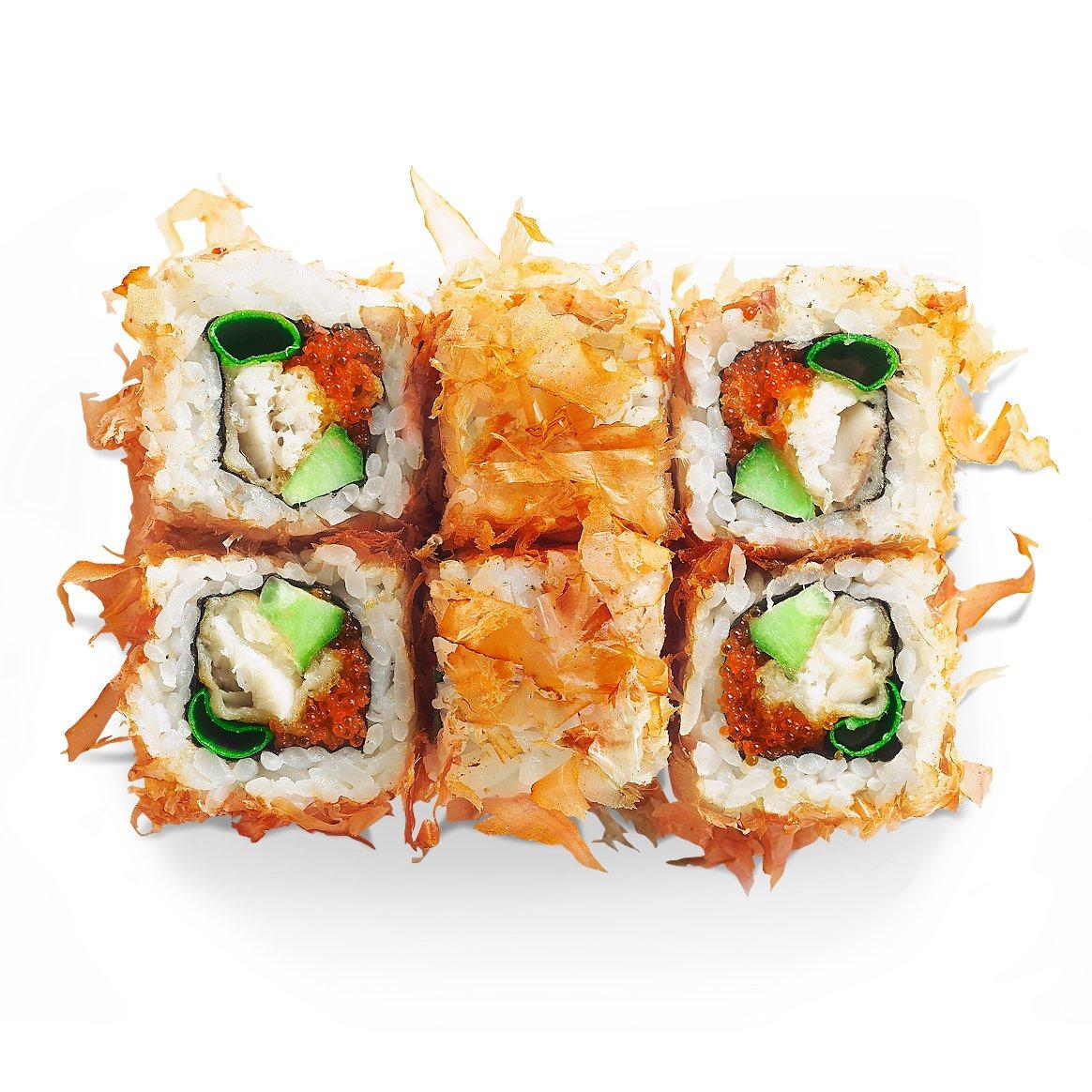 Доставка суши Днепре. Заказать суши на дом. Филадельфия.